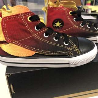 Converse , 100% real & new , red fire