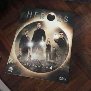 Heroes Season 1-4