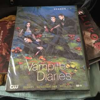 The Vampire Diaries Season 1-3