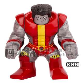 阿米格Amigo│DL025 鋼力士 Colossus 超級英雄 Superhero人仔 滿30只包郵