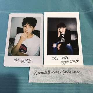 Seventeen SVT Wonwoo Official Photocard
