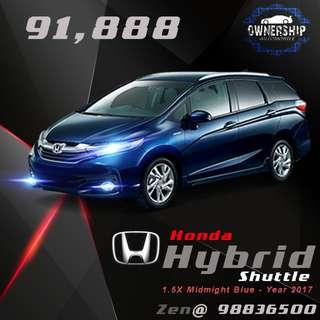 Honda Shuttle 1.5G ( Sensing & LED )