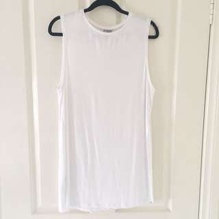 NEW ASOS Longline Tank Top with Split