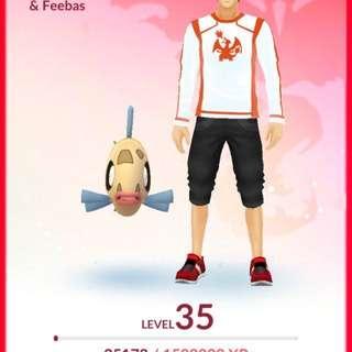 Lvl35 100iv Mewtwo pokemon go acc