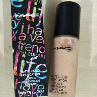 Mac - Matte Liquid Foundation 35ML - Last Bottled