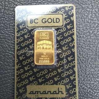 Gold Bar nice number 00888