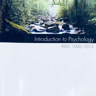 Introduction to Psychology ($18 OFF)