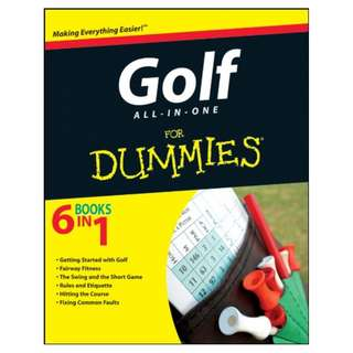Golf All-in-One For Dummies BY Consumer Dummies (Author), LaReine Chabut  (Author)