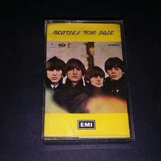 Beatles (for sale) cassette - rare
