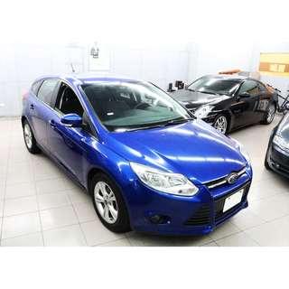 2014 福特 Ford Focus 1.6 藍