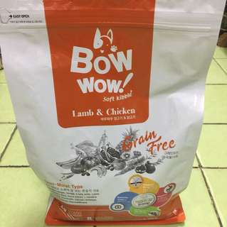BowWow soft kibble lamb & chicken 1.2kg