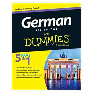German All-in-One For Dummies BY Consumer Dummies
