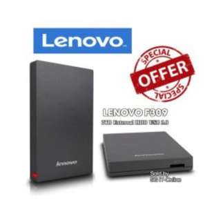 Lenovo F309 USB3.0 1TB External Hard Disk, Grey Used sets