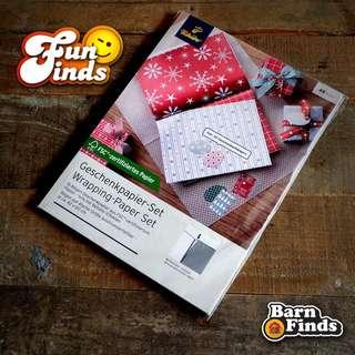 Tchibo Wrapping Paper Set