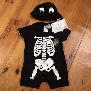 000 Halloween Outfit Baby Romper Onsie