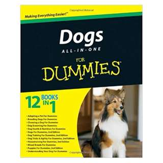 Dogs All-in-One For Dummies BY Consumer Dummies