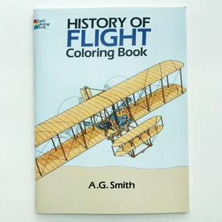 Book: History of Flight Coloring Book (Dover History Coloring Book)