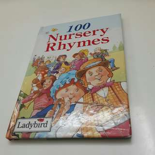 100 Nursery Rhymes Book for Toddlers