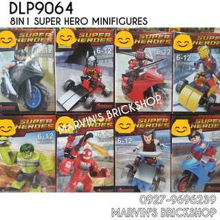 For Sale Latest Super Hero 8in1 Minifigures