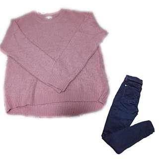 b+ab sweater軟毛質地