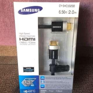 Samsung HDMI線 2m 12.3Gbps 新
