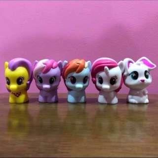 My Little Pony Playskool figures