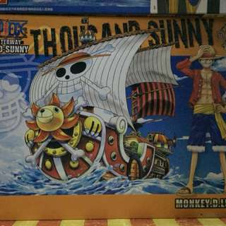 One piece ships