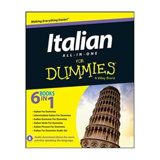 Italian All-in-One For Dummies BY Consumer Dummies