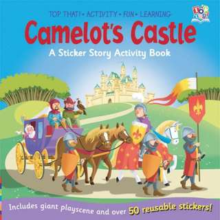 Top That Camelot's Castle Sticker Story Activity Book
