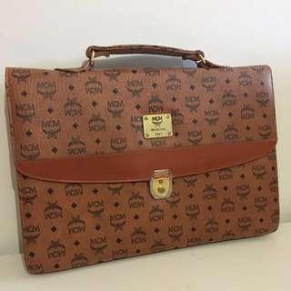 Genuine MCM Business Satchel Hand Bag