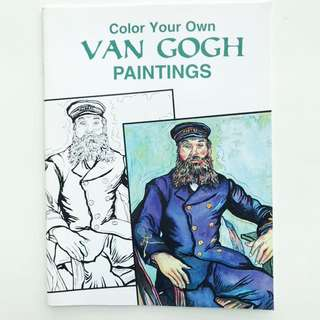 Book: Color Your Own Van Gogh Paintings (Dover Art Coloring Book)
