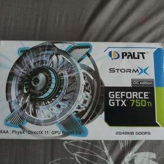 GEFORCE GTX 750 TI STORMX OC EDITION