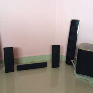 Samsung home theater system speakers