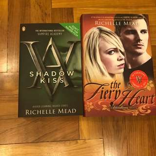 Richelle Mead Vampire Academy Books