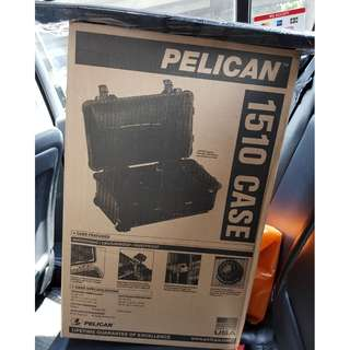 BNIB (Brand New in Box) Pelican Hard Case 1510 with Lid Organizer and Foam. Great for safe transport of your Nikon / Canon / GoPro camera equipment or your DJI Drone. Selling for my dad. Price Negotiable :)