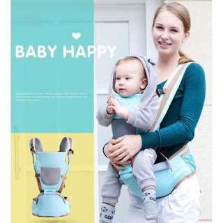 Baby Carrier and Hip Seat (Suitable for 0-36 months)