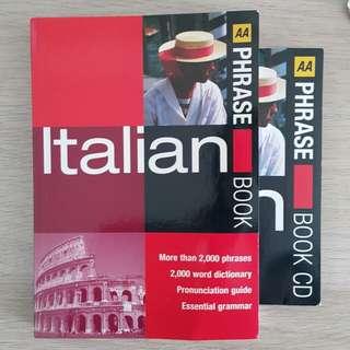 Italian Phrase Book with CD