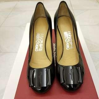 Ferragamo high heel shoes size 5.5 高踭鞋