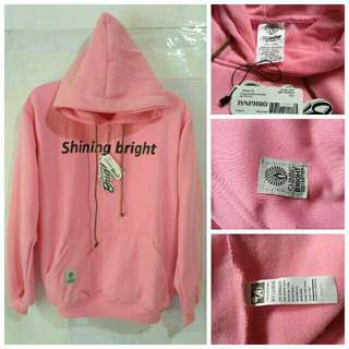 SWEATER HOODIE SHINING BRIGHT FLECEE TEBAL
