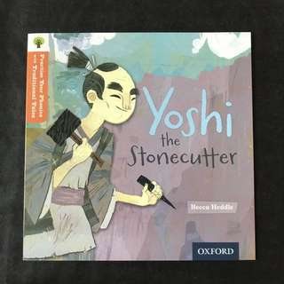 💥NEW- Oxford Practice Your Phonics with Traditional Tales - Yoshi the Stonecutter (Level 6) - Children Storybooks