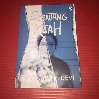 Novel Rentang Kisah by Gita Savitri Devi (ori)