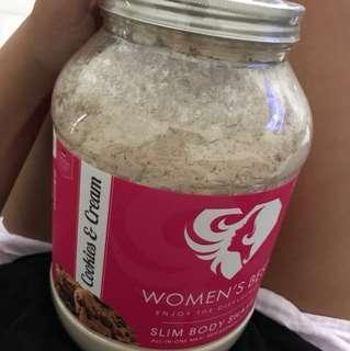 Women's Best Cookies & Cream Protein SALE $50
