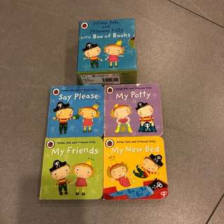 Pirate Pete and Princess Holly set of 4 books
