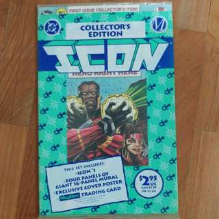 Icon #1 First Issue Collector's Edition Set
