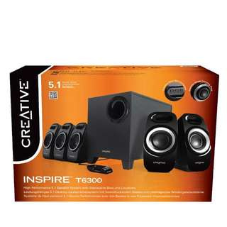 Creative Inspire T6300 5.1 channels speakers