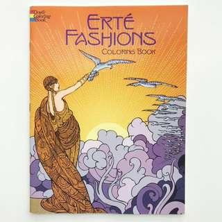 Book: Erté Fashions Coloring Book (Dover Fashion Coloring Book)