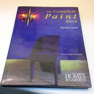 The Complete Paint Book 彩繪牆壁藝術