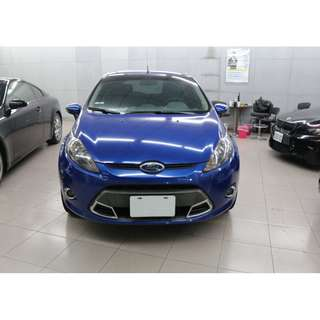 2012 福特 FORD Fiesta 藍