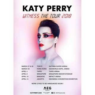 Tiket Katy Perry (Festival B) (14 April 2018)