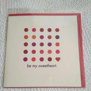 Valentine's Day Card 示愛卡